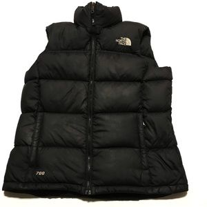 The North Face 700 Nuptse Down Puffer vest